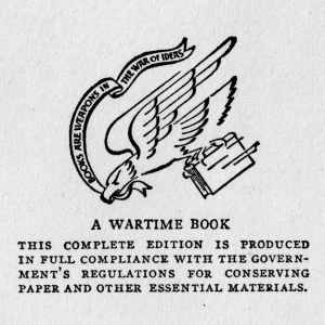 Emblem of the Council on Books in Wartime